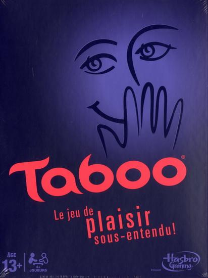 taboo boîte