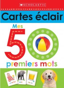 cartes éclair 50 mots anglais français