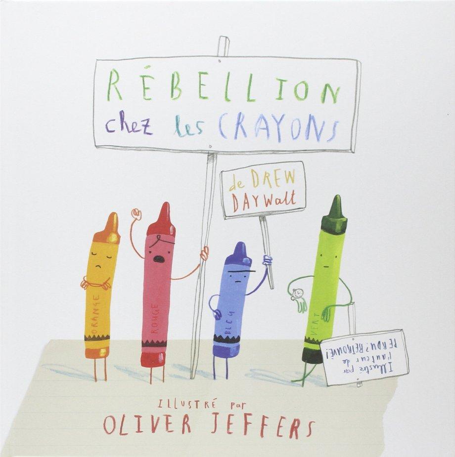 rébellion crayons