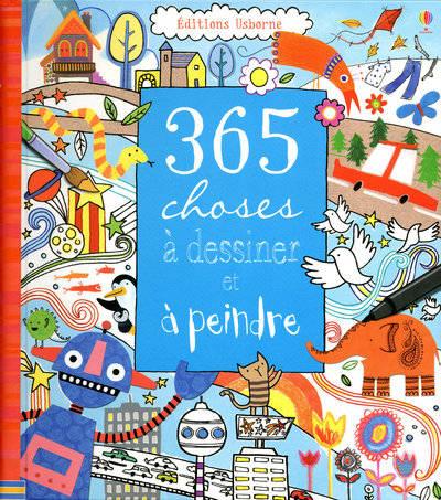365 choses dessiner peindre