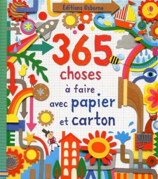 365 choses faire papier carton